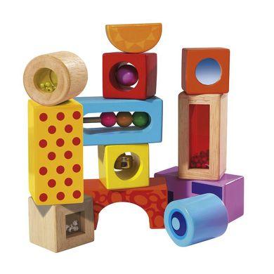 EICHHORN Color stavící kostky se zvuky cena od 370 Kč