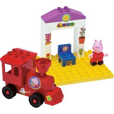 BIG Peppa Pig nádraží cena od 170 Kč