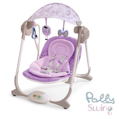 XXL obrazek CHICCO Polly Swing LILA