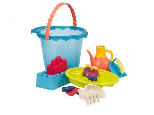 B.toys Velká sada hraček na písek v kyblíku cena od 444 Kč