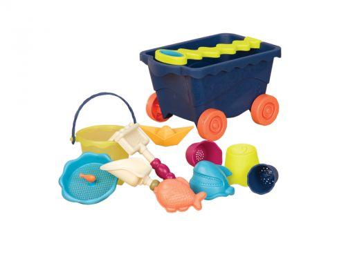 B.toys Vozík s hračkami na písek cena od 474 Kč