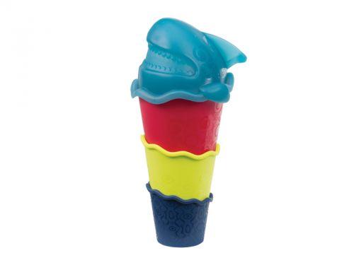 B.toys Sada kelímků se žralokem Shark-a-Stack cena od 86 Kč