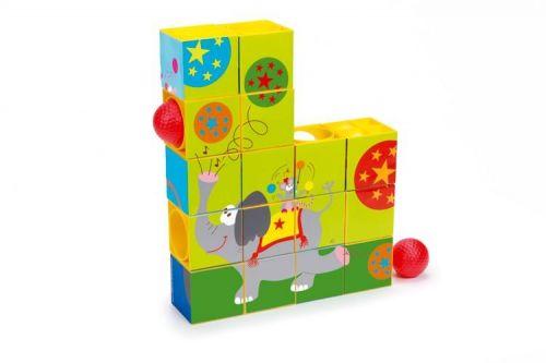 Scratch Puzzle a kuličková dráha Cirkus cena od 567 Kč