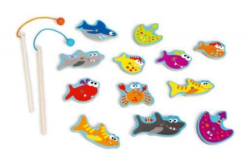Scratch Magnetická hra Zubaté rybičky