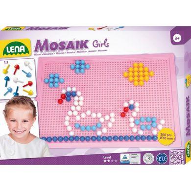 LENA Mozaika sada dívka