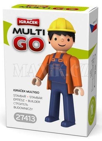 Igráček Multigo Stavbař cena od 39 Kč