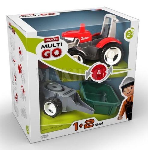Igráček Multigo 1+2 Traktor cena od 262 Kč