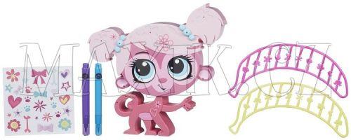 Littlest Pet Shop Dekorativní zvířátka Opička cena od 0 Kč