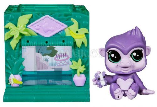 Littlest Pet Shop Zvířátko s mini domečkem Sunshine Sweetness cena od 185 Kč