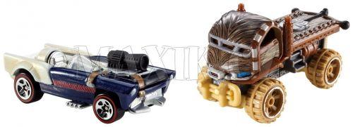 Hot Wheels Star Wars Han Solo a Chewbacca cena od 249 Kč