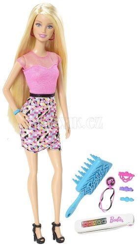 Barbie Duhové vlasy cena od 0 Kč