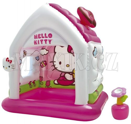 Intex Hello Kitty Nafukovací domeček cena od 586 Kč