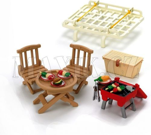 Sylvanian Families Střešní nosič s piknik setem cena od 309 Kč