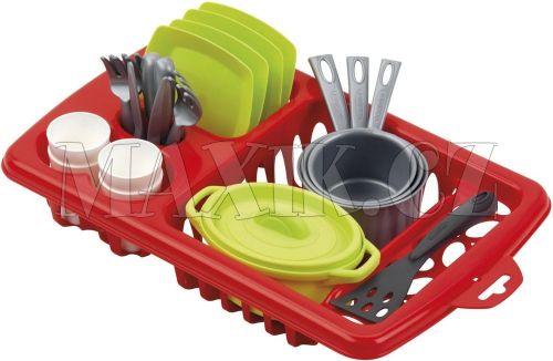 Ecoiffier Velký odkapávač s nádobím