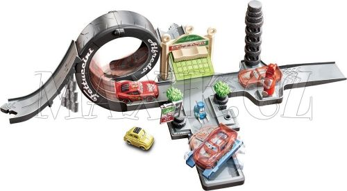 Mattel Cars Set Kardanová Lhota Luigi's Loop cena od 0 Kč