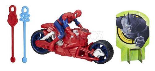 Hasbro Spiderman se závodním vozidlem cena od 469 Kč