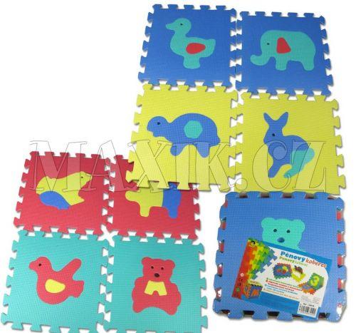 Made Pěnový koberec zvířátka cena od 189 Kč