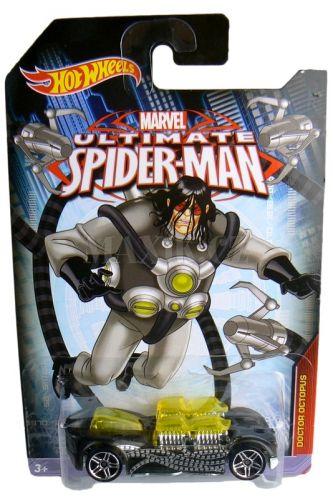 Hot Wheels Spiderman Autíčko Doctor Octopus cena od 0 Kč