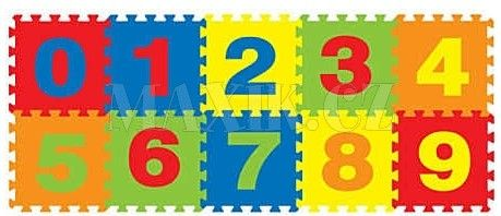 Made Pěnový koberec číslice cena od 225 Kč