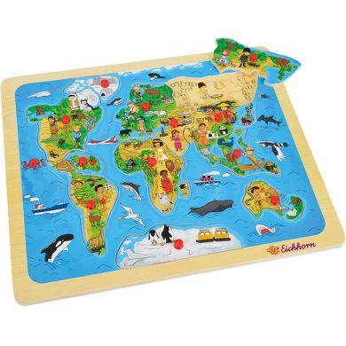 EICHHORN Vkládací puzzle mapa světa cena od 278 Kč