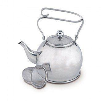 Orion Nerezový čajník + sítko 0,65 l cena od 0 Kč