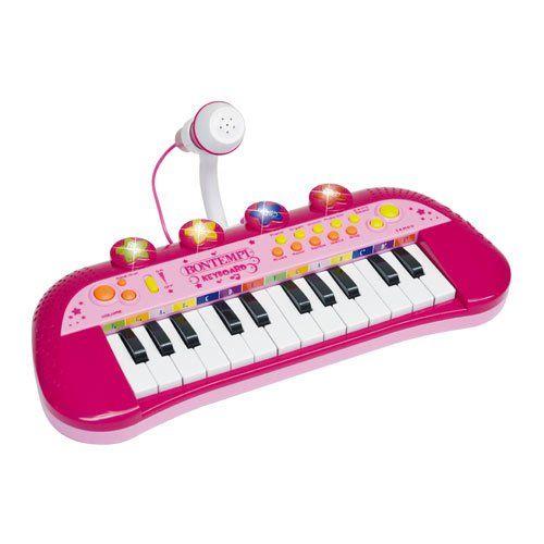 Bontempi Elektronické klávesy s mikrofonem cena od 0 Kč
