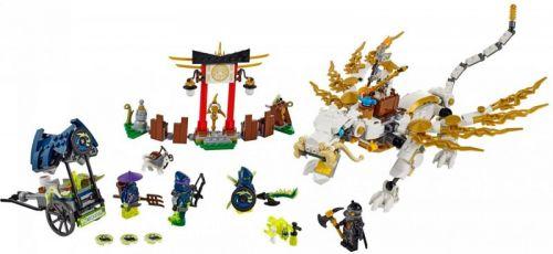 Lego NINJAGO Drak Mistra Wu 70734