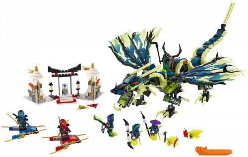 Lego Ninjago Útok draka Morro 70736