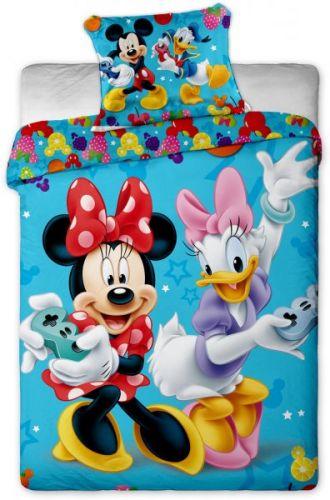 Jerry Fabrics Mickey a Minnie games povlečení
