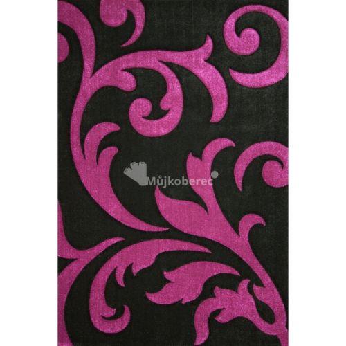 Lalee Lambada LAM 451 černo-fialový koberec