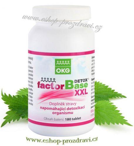 OKG Factor Base Detox XXL 180 tablet