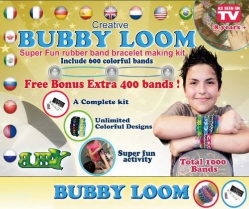 Bergner Loom bands BUBBY BOY 1000 ks cena od 189 Kč