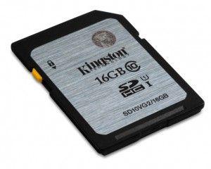 Kingston SDHC UHS-I U1 16 GB