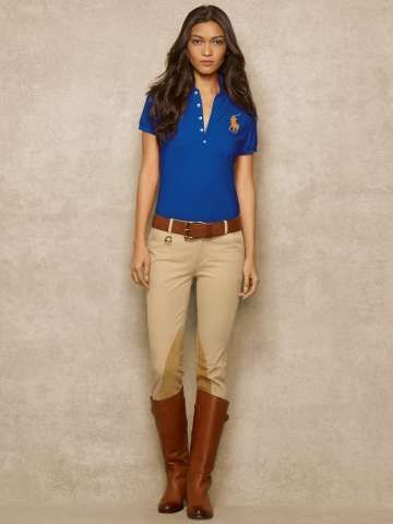 Ralph Lauren Big Pony Pima Stretch Polo triko