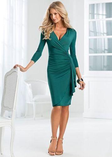 VENUS Side Ruffle šaty