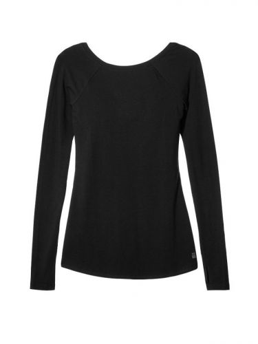 Victoria´s Secret Long-sleeve Scoopback Tee triko