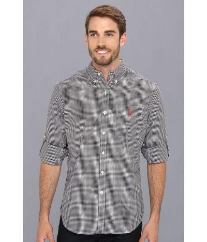 U.S. Polo Assn. Roll Up Sleeve Gingham Poplin košile