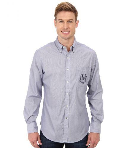 U.S. Polo Assn. Vertical Stripe Poplin Long Sleeve Sport košile