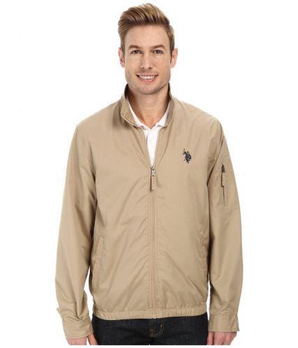 U.S. Polo Assn. Mock Zip Jacket bunda