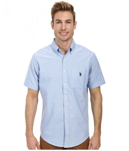 XXL obrazek U.S. Polo Assn. Short Sleeve Solid Oxford košile