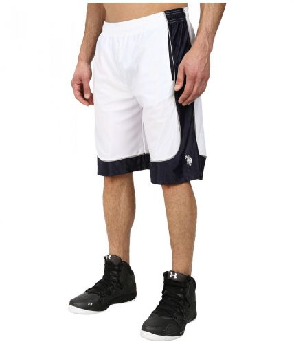 U.S. Polo Assn. Athletic Shorts With Dazzle Side Panel kraťasy