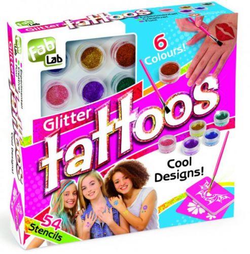 Alltoys Fab-Lab Třpytivé tetování cena od 263 Kč