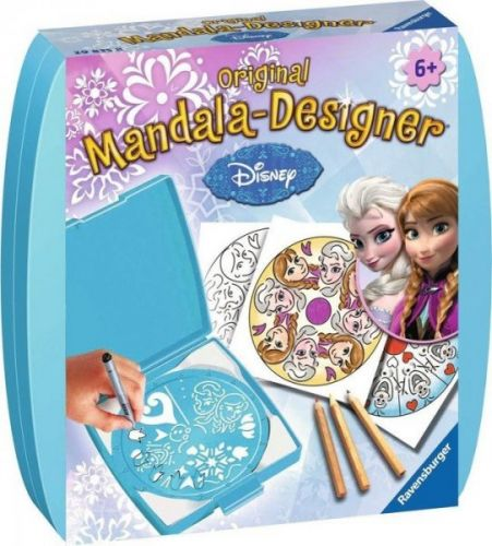 Ravensburger Mini Mandala Disney Ledové království cena od 179 Kč