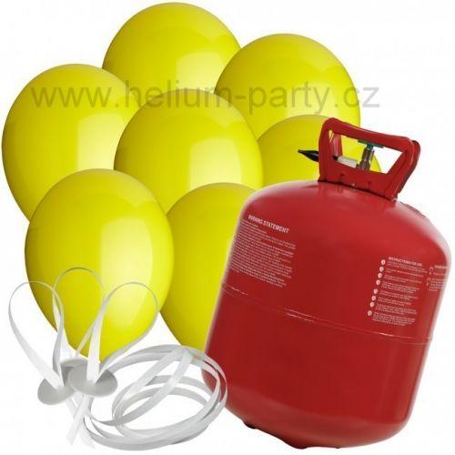 Worthington Industries EU Helium Balloon Time + 30 žlutých balónků