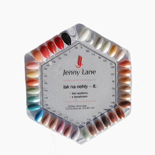 Jenny Lane Vzorníky laků
