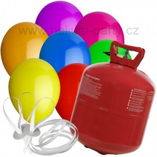 Worthington Industries EU Helium Balloon Time + 50 barevných balónků mix cena od 1248 Kč