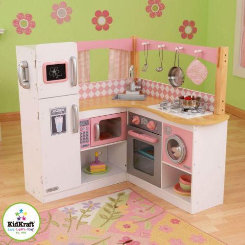 KidKraft GRAND GOURMET CORNER Dětská kuchyňka cena od 0 Kč