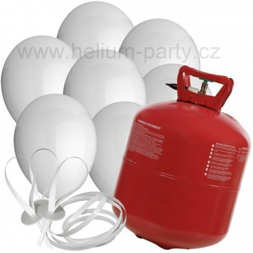 Worthington Industries EU Helium Balloon Time + 30 bílých balónků