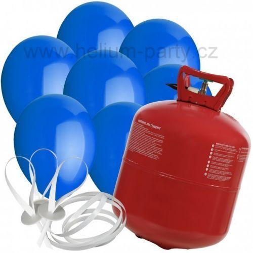 Worthington Industries EU Helium Balloon Time + 30 modrých balónků