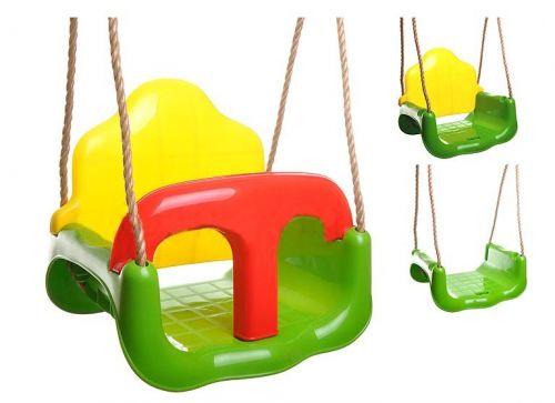 Adriatic Dětská plastová houpačka 3v1